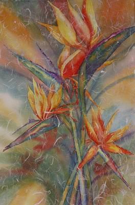 Painting - Birdies by Tara Moorman