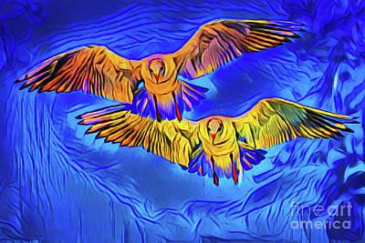 Photograph - Birds 20518 by Ray Shrewsberry