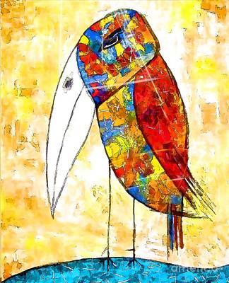 Digital Art - Birds 4157 by Marek Lutek