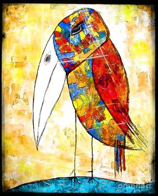 Digital Art - Birds 4158 by Marek Lutek