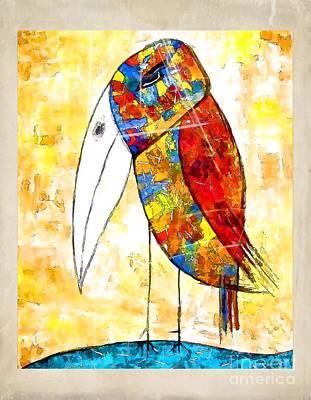 Digital Art - Birds 4160 by Marek Lutek