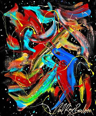 Painting - Birds Are Fish by Neal Barbosa
