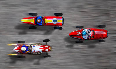 Photograph - Bird's Eye Racers by Rudy Umans