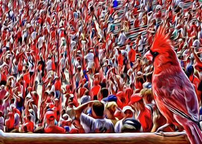 Digital Art - Bird's Eye View by John Freidenberg