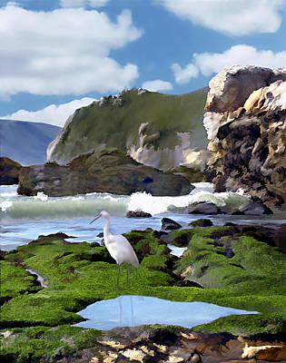 Bird's Eye View Art Print by Kurt Van Wagner