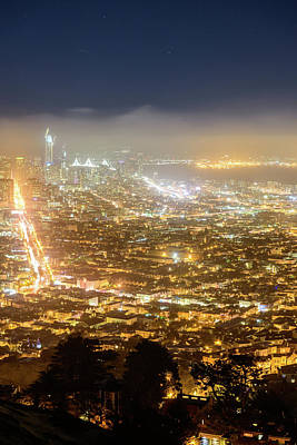 Photograph - Bird's Eye View Of San Francisco 3 by Jason Chu