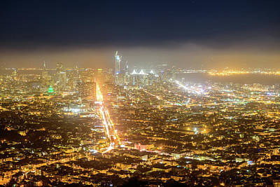 Photograph - Bird's Eye View Of San Francisco 4 by Jason Chu