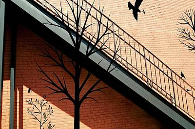 Photograph - Birds In The Alley by Diana Angstadt