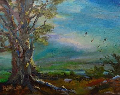 Painting - Birds Of A Feather by Grace Diehl