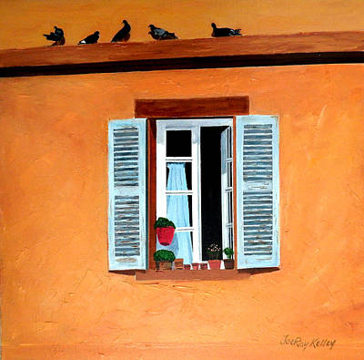 Painting - Birds Of A Feather..... by JoeRay Kelley