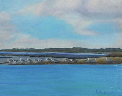 Painting - Birds Of Crescent Beach by Patty Weeks