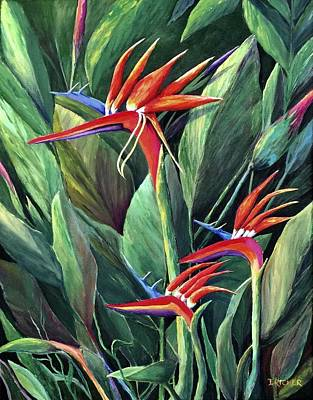 Painting - Birds Of Paradise by Jane Ricker
