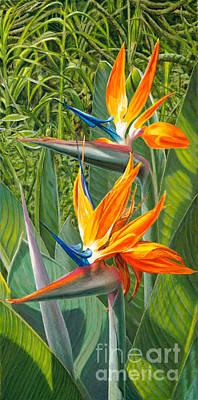 Birds Of Paradise Original by Pati O'Neal