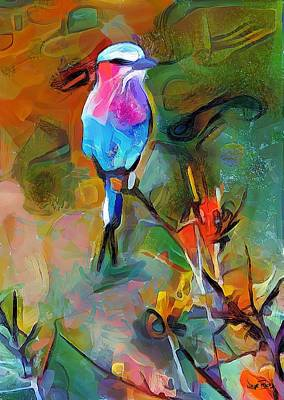Painting - Bird's View by Wayne Pascall