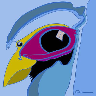 Digital Art - Birdseye by Jeff Quiros