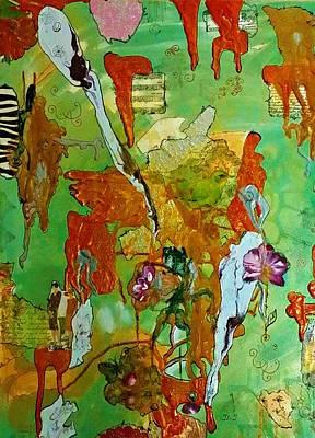 Digital Art - Birdsong by Jan Steadman-Jackson
