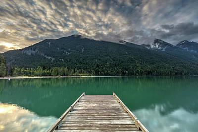 Photograph - Birkenhead Lake Sunrise by Pierre Leclerc Photography