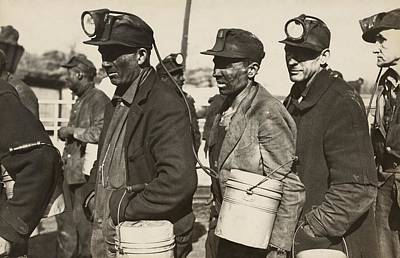 New Deal Photograph - Birmingham Alabama Coal Miners by Everett