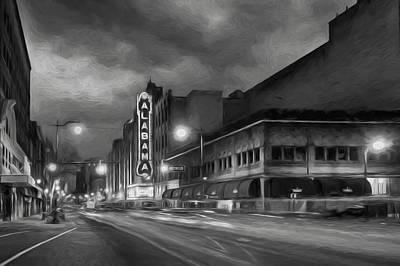Steven Michael Photograph - Birmingham Alabama by Steven Michael