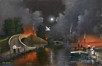 Painting - Birmingham And Liverpool Junction by Ken Wood