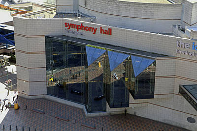 Photograph - Birmingham Symphony Hall by Tony Murtagh