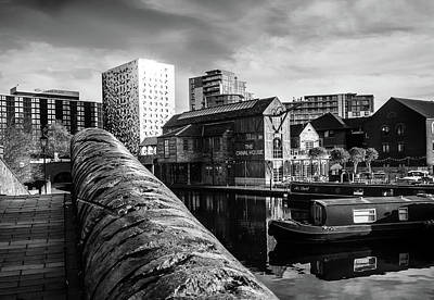Photograph - Birmingham Waterway by Nick Bywater