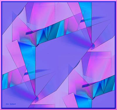 Digital Art - Birth by Iris Gelbart