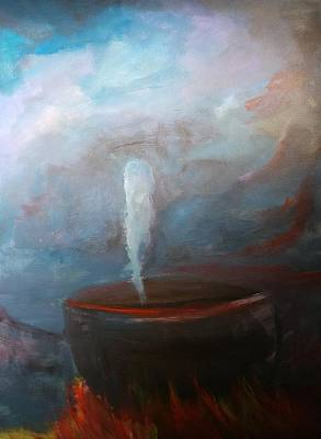 Painting - Birth Of A Ghost by Richard Yates