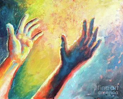 Painting - Birth Of Adam by Lisa DuBois