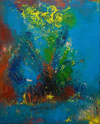 Painting - Birth Of An Angel 2008 by Gabi Dziok-Grubb