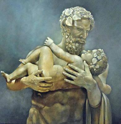 Birth Of Bacchus Art Print by Geraldine Arata