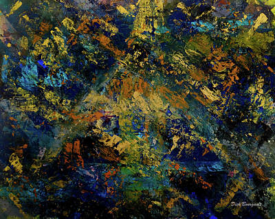 Painting - Birth Of Consciousness by Dick Bourgault