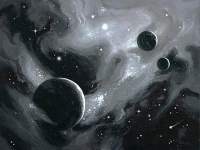 Birth Of Exoplanets Art Print
