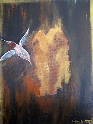 Painting - Birth Of The Hummingbird by Gary Smith