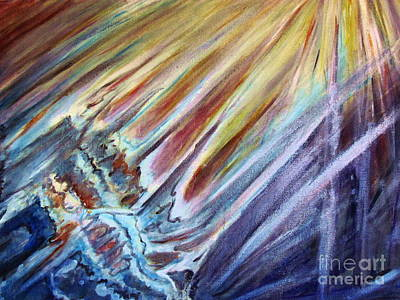 Painting - Birth Of The Universe by Stanley Morganstein