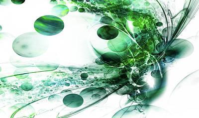 Uranus Digital Art - Birth Of Uranus by Steve K