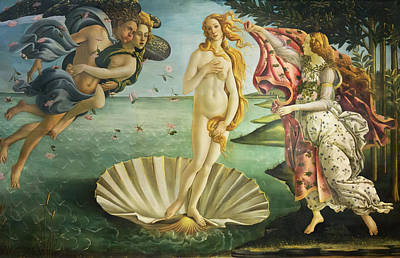 Photograph - Birth Of Venus - Botticelli by Weston Westmoreland