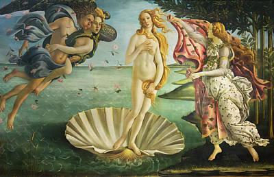 Photograph - Birth Of Venus - Botticelli by Weston Westmoreland