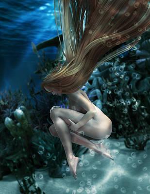 Myth Digital Art - Birth Of Venus by Cheri Stollings