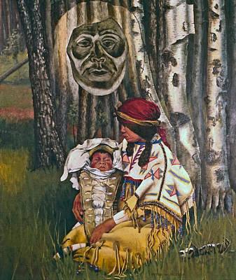 Birth Spirit Art Print by Peter Muzyka