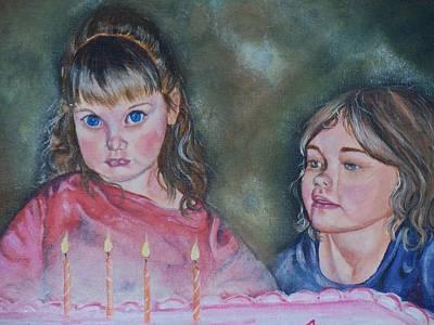 Birthday Candles Art Print by Sandra Valentini