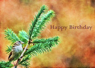 Photograph - Birthday Card by Cathy Kovarik
