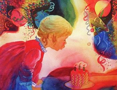 Painting - Birthday Party by Marilyn Jacobson