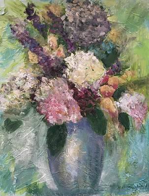 Painting - Birthday Surprise by Gloria Smith