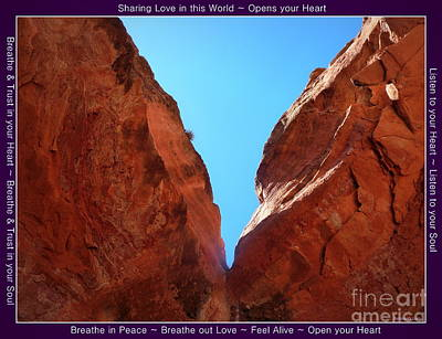 Photograph - Birthing Cave Sedona by Marlene Rose Besso