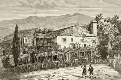 Birthplace In Casdemiro, Galicia, Spain Art Print