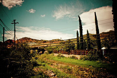 Target Threshold Nature - Bisbee, Arizona #6 by Robert J Caputo