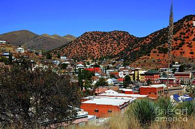 Photograph - Bisbee Arizona by Diana Mary Sharpton
