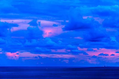 Photograph - Biscayne Bay Sunset by Jonathan Gewirtz