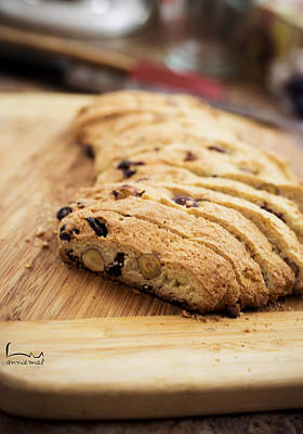 Biscotti Photograph - Biscotti by Creations Anniemal